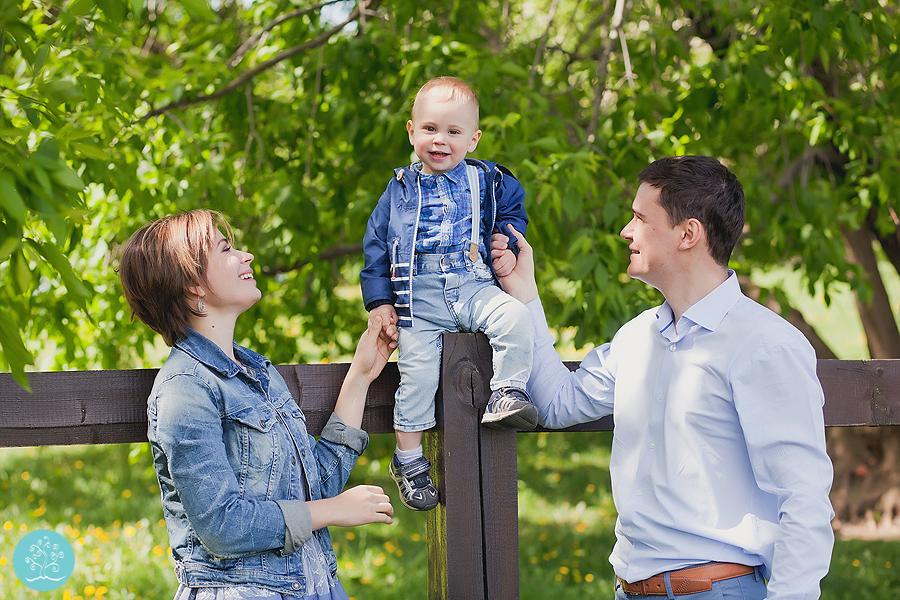 Семейная фотосессия в парке